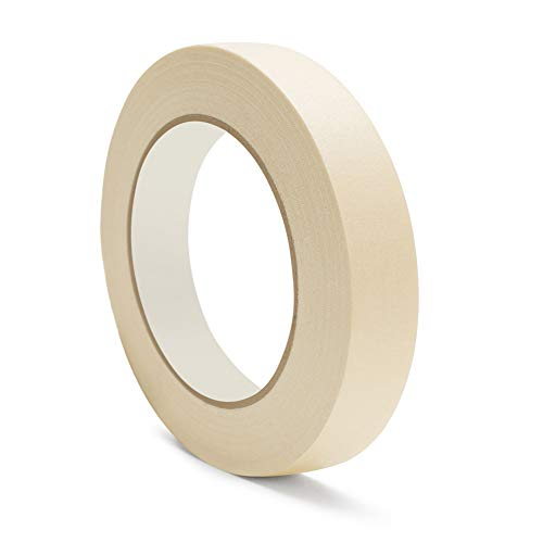 Masking Tape for Painting Purpose 5.0 Mil Thick 1/2 Inch x 60 Yards Oil Resistant 72 Rolls