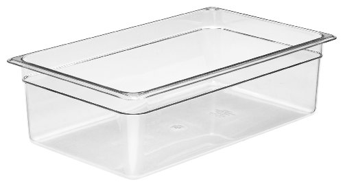 Cambro Bay (Cambro Camwear 16CW135 Food Pan, 1/1 by 6-Inch, Clear)