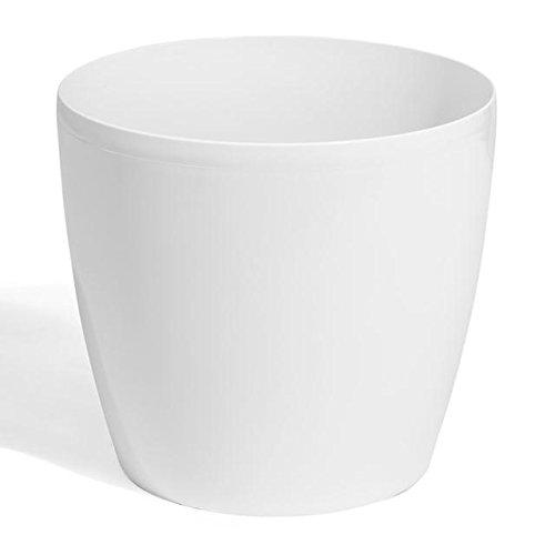 Terra 1401387100 Coubi Kunststoff Übertopf 19 cm, weiß