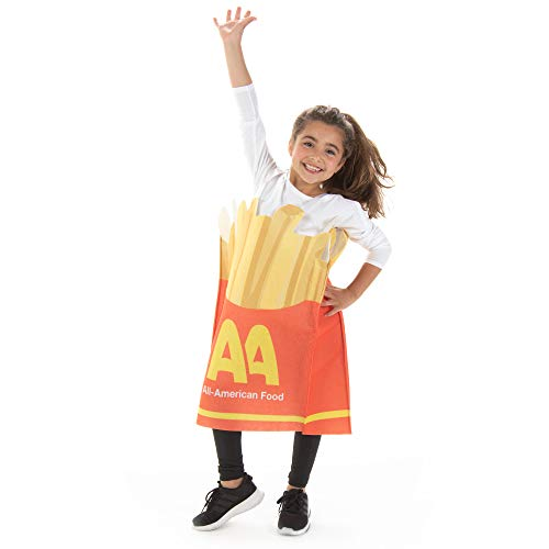 Fancy French Fries Halloween Children's Costume - Funny Kid Food Suits ()
