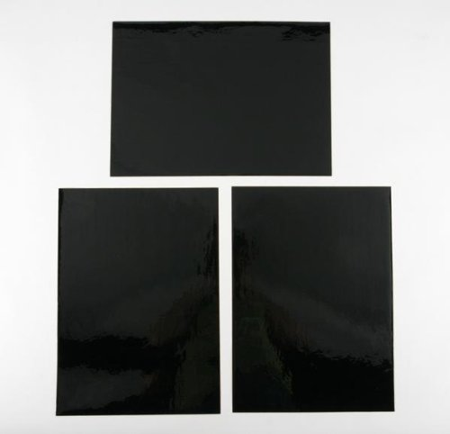 N-Style Cut -To- Fit Background - Black - 12in. x 17in. N02