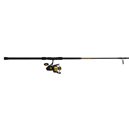 Penn Spinfisher V 6500 Fishing Rod and Spinning Reel Combo, Surf, 10 Feet, Heavy Power, 2-Piece (Heavy Surf Piece 2 Rod)
