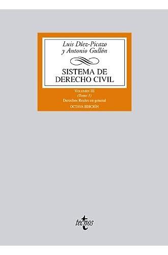Sistema De Derecho Civil: Volumen Iii Derechos Reales En General: 3