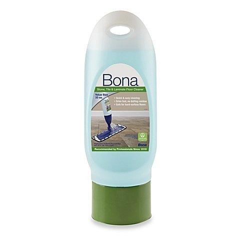 Bona 33-Ounce Stone, Tile & Laminate Floor Cleaner Refill Cartridge | Waterborne, Non-Toxic Swedish (Wilsonart Laminate Cleaner)