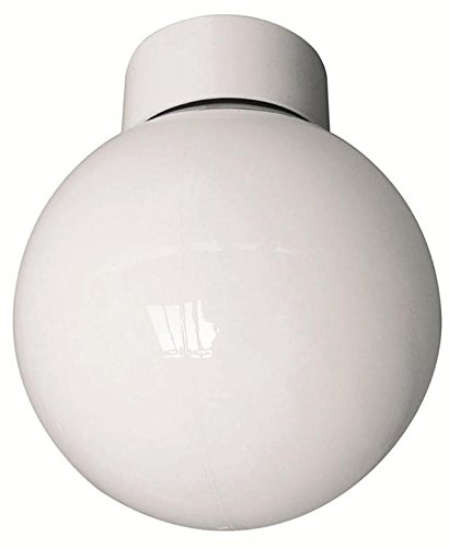 60W Bathroom Ceiling Globe Frosted IP44 FY5 Electrical