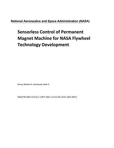 Sensorless Control of Permanent Magnet Machine for NASA Flywheel Technology - Space Magnet Wheel