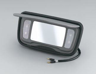 (Honda Goldwing Gl1800 / Trunk Vanity Mirror With Light / Pt # 08E75-MCA-100G)