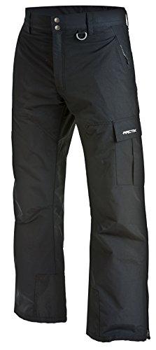 Arctix Men's Mountain Premium Snowboard Cargo Pants, Black, Large (36-38W 32L)