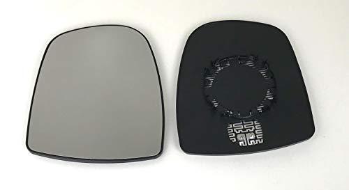 Specchietto Vetro Specchietto Destro Riscaldabile per Specchio Esterno Elettrico e Manuale Regolabile Idoneo Pro!Carpentis