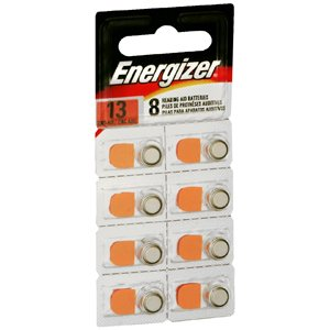 ENERGIZER HEAR AID AZ13E-8 Pack of 8 by AUDIOVOX ***