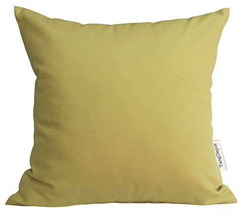 - TangDepot Handmade Decorative Solid 100% Cotton Canvas Throw Pillow Covers/Pillow Shams, (24