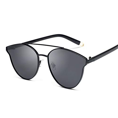 rondes de NIFG soleil de soleil Lunettes élégantes lunettes Grey polarisées homme Ht7UqU