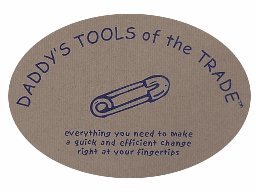 Daddy's Tools of the Trade Diaper Changing Toolbelt Gift for New Dad