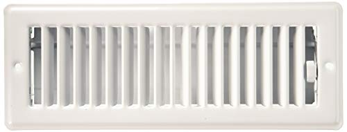 IMPERIAL MANUFACTURING RG0128 3X10 White ceiling register (3 1 4 X 10 Vent)