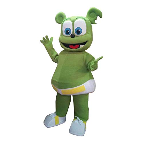 Gummy Bear Mascot Costume Character Cosplay Party Birthday Halloween]()