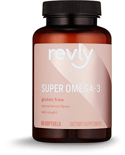 Amazon Brand – Revly Super Omega-3, Wild-caught Fish Oil, 90 Softgels, 45 Day Supply Review