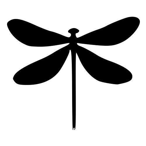 Pack of 3 Dragonflyステンシル、16 x 20、11 x 14、8 x 10 Madeから4 plyマットボード B0752Z4V88