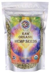 Hemp Seed Flour (Earth Circle Organics Hemp Seeds, 12 Ounce)