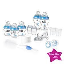 Tommee Tippee Closer to Nature Exclusive Newborn Starter Set - Boy
