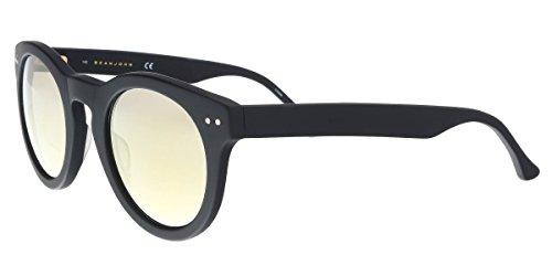 (Sean John SJ554S 001 Black P-3 Sunglasses for Mens)