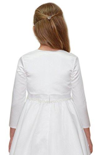 hochzeits-shop-hamburg - Vestido - Túnica - para niña blanco