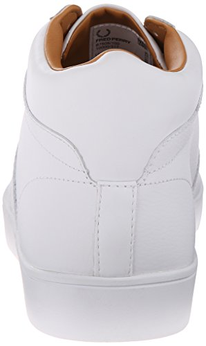 Fred Perry Fp Spencer Mid Sports - - Hombre Blanco