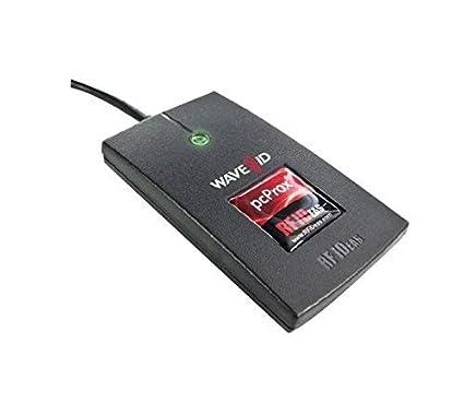 RF IDeas pcProx 82 USB 2.0 Negro Lector de Tarjeta Inteligente ...