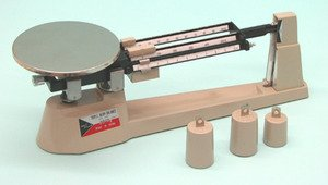 SEOH Triple Beam Balance Capacity 2610 gm x 0.1 gm with Hanging Weights