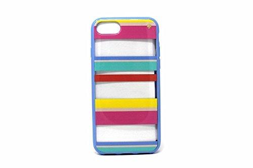 Dune Stripe - Kate Spade New York Dune Stripe Clear iPhone 7 Case, Multi, iPhone 7