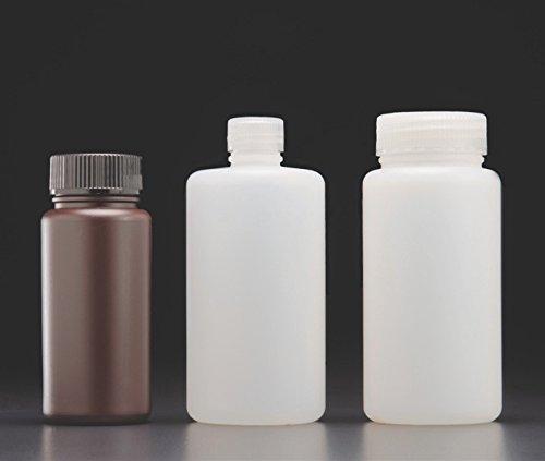 J.G Finneran Associates Inc. Bulk Pack JG Finneran D0438B-32 HDPE Amber Narrow Mouth Laboratory Grade Bottle with 28mm Closure 1000mL Capacity Pack of 24
