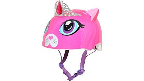 Raskullz Girls Kitty Tiara Helmet, Dark Pink, Ages 5+ by Raskullz (Image #2)