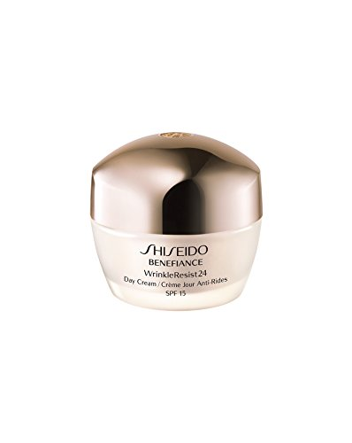 - Shiseido SPF 18 Benefiance Wrinkle-Resist 24 Day Cream for Unisex, 1.8 Ounce