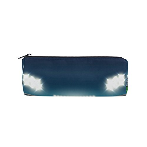 WOZO American Football Stadium Pen Pencil Case Makeup Cosmetic Pouch Case Travel Bag