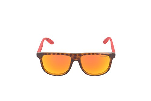 Carrera - Lunette de soleil CARRERINO 13 Rectangulaire Multicolore (Hvna Red)