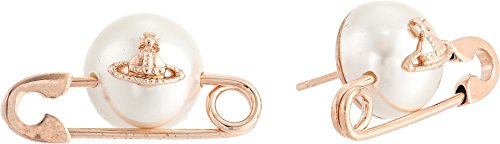 Vivienne Westwood Women's Jordan Earrings Pearl 3 One Size by Vivienne Westwood