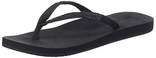 - Reef Women's Ginger Flip-Flop (5 M US, Black/Black)