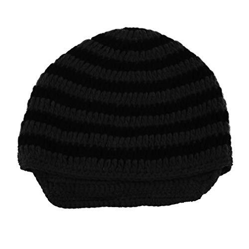 Vvciic New Chic Warm Winter Men Women Braided Baggy Knit Croche Hat Ski Cap Gorro