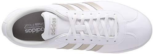 Adidas Bianco Met ftwr 0 White Skateboard Donna Da White Vl platinum ftwr Scarpe Ftwr Court 2 White 78xwt7Oqr