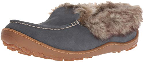 Columbia Women's Minx Omni-Heat Slipper, Graphite, Ancient Fossil, 8 Regular US ()