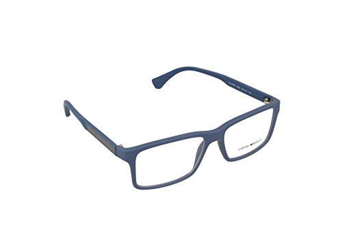 Emporio Armani EA 3038 Men's Eyeglasses Blue Rubber 54 by GIORGIO ARMANI