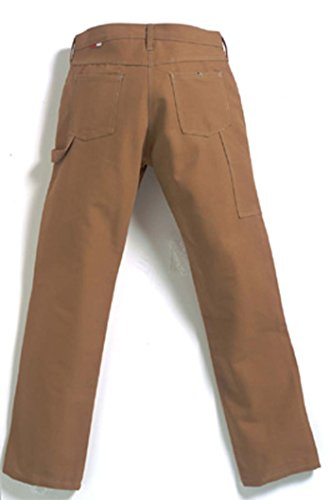 TWIN-PACK - TWO PAIRS OF FR CARPENTER PANTS - FLAME RESISTANT Saf-Tech 11oz. INDURA Ultra Soft Duck Relaxed Fit Carpenter Work Pants - Lightweight, Comfortable. Great for warm weather - MADE IN THE U.S.A. (Waist=30 - Inseam=34) by Saf-Tech