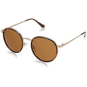MTV Stylish Round Light Weight 100% UV Blocking Shatterproof Polycarbonate Lens Sunglasses MTV-137