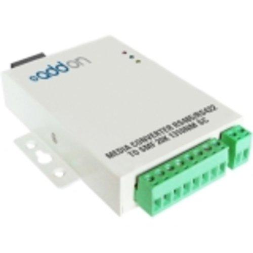 Addon ADD-RS422-2SC Serial port extender - serial RS-232, serial RS-422 / SC single mode - up to 12.4 miles - 1310 nm (Serial Rs 232 Extender Port)