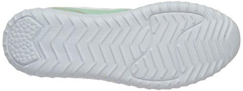 KangaROOS Ele - Zapatillas de casa Unisex Niños Grün (Misty Jade/White)