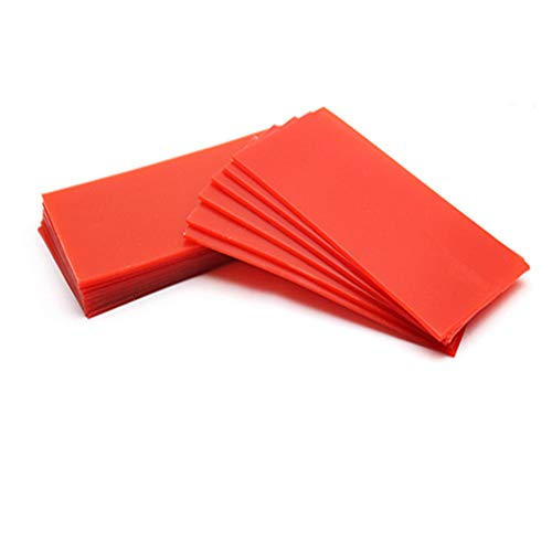 Dental Lab Base Plate Red Utility Wax Orthodontic Base Plate Wax Dental Wax Sheets Dental Supply