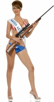 Women's Hot Sarah Palin Costume