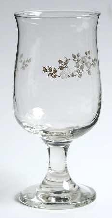 Pfaltzgraff HEIRLOOM Goblet, Heirloom Wine Glass, Pfaltzgraf