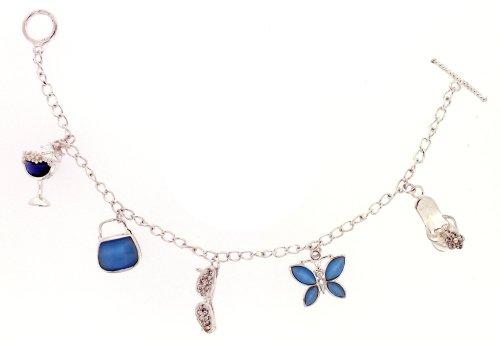 Bracelet - Femme - Argent 925/1000 9.77 Gr - Cristal Swarovski