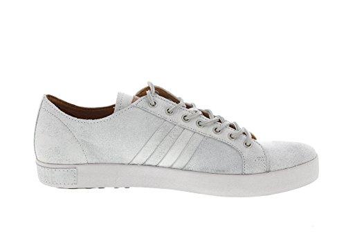 BLACKSTONE - Sneaker JM11 - white metal Weiß (White)