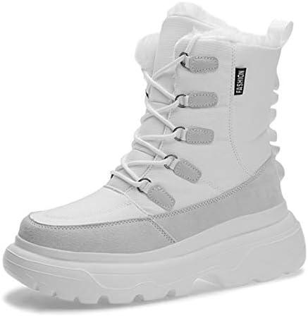 ウィンターブーツ おしゃれ スノーシューズ メンズ レースアップ 雪靴 登山靴 綿靴 ショートブーツ 防寒 裏起毛 滑り止め カジュアル アウトドア トレッキング ハイキング 通勤用 スノーブーツ 通学 ワークブーツ